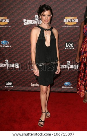 Shawnee Smith  at Spike Tv's 'Scream 2008'. Greek Theatre, Hollywood, CA. 10-18-08