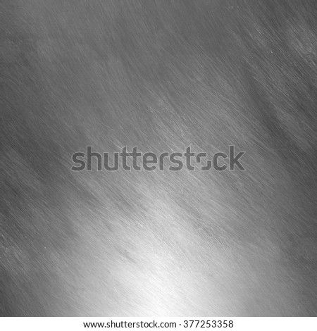 Sheet metal silver solid black background industry. - stock photo