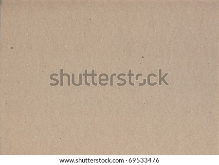 Sheet of brown paper