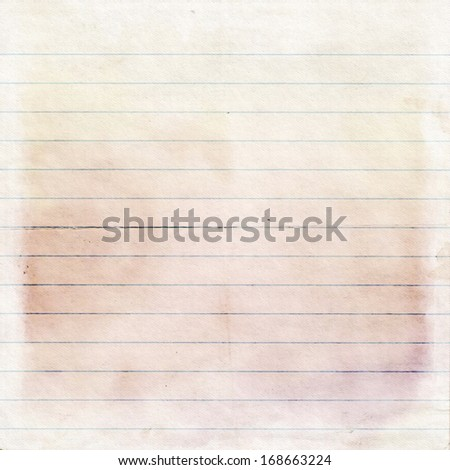 sheet of old, soiled paper background, grunge texture - stock photo