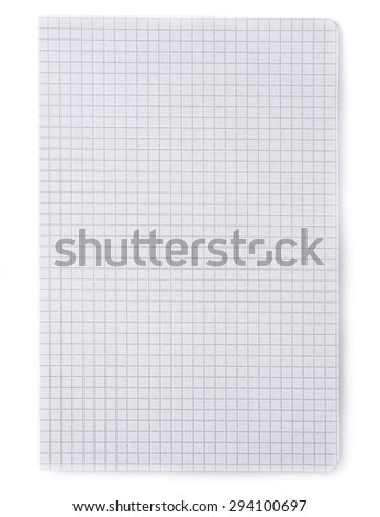 Sheet of paper background