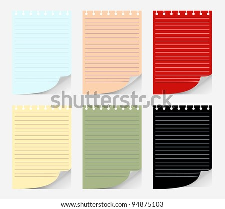 sheet of papers