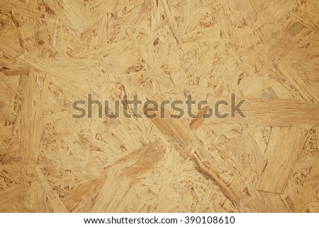 Sawdust as plyboard