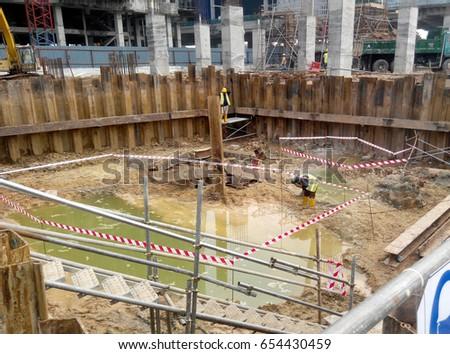 cofferdam construction