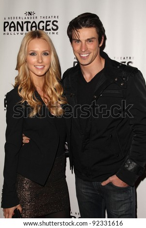 "Sheridan Gregory and Adam Gregory at the ""Rock Of Ages"" Opening Night, Pantages Theater, Hollywood, CA. 02-15-11"