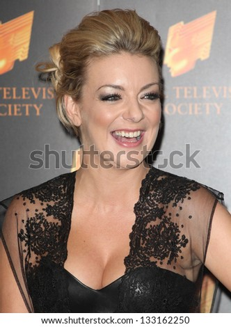 Sheridan Smith arriving for the RTS Awards 2013, at The Grosvenor House Hotel, London. 19/03/2013 Picture by: Alexandra Glen