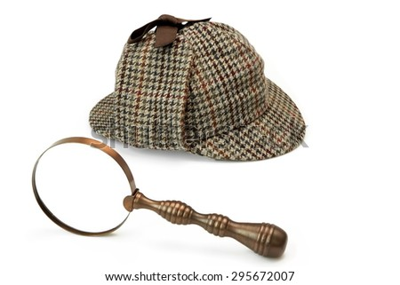 Detective Hat Stock Images, Royalty-Free Images & Vectors ...