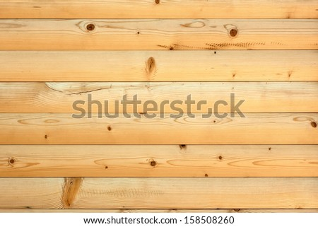 Shield with new parallel wooden rounded whiteboard - stock photo