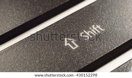 Shift Key - stock photo