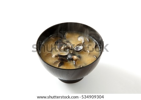 Shijimi clam miso soup