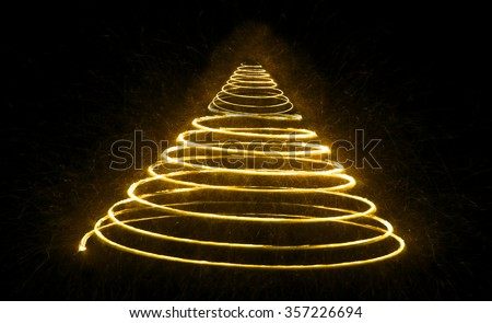 Shimmering blur background with shining lights, light spot, spiral lights, - stock photo