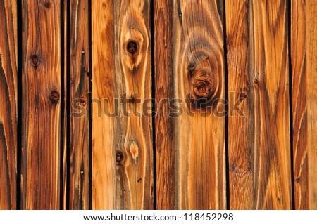 Shining plank of wood - background - stock photo