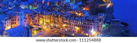 Shining Vernazza - stock photo