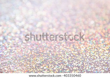 Shiny delicate multicolored holographic background. The texture. - stock photo