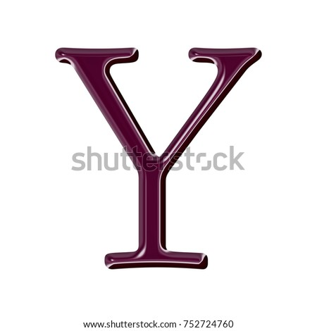 Red y letter white stock images royalty free images vectors shiny glass style wine red or burgandy purple color uppercase or capital letter y in a sciox Image collections