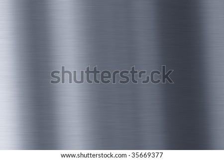 Shiny metal background - stock photo