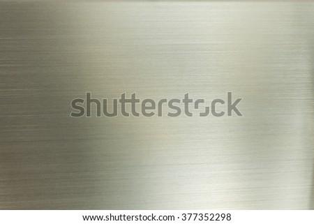 shiny metal surface close up - stock photo