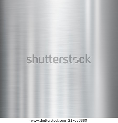 shiny metal texture background - stock photo