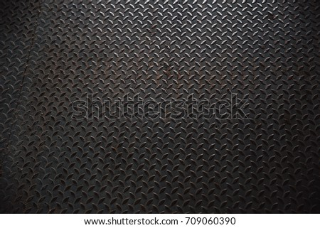 Steel Grill Sewer Cover Manhole Cover Stock Photo