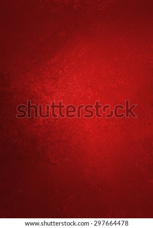 shiny red background with faint black vignette border and vintage grunge texture, rich red Christmas background color, elegant luxury background design for website layouts, posters, signs - stock photo