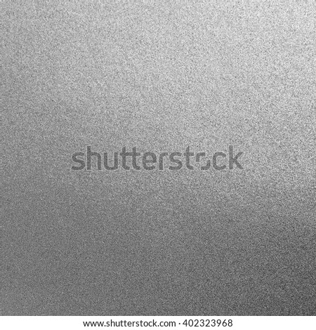 Shiny silver white gray grey paper foil decorative texture background: Bright brilliant festive glossy metallic look textured backdrop: Metal steel like material pattern surface for design decoration - stock photo