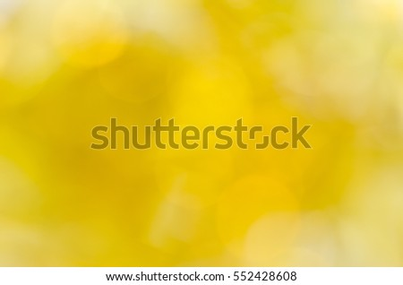 Shiny yellow bokeh background