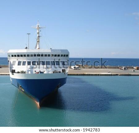 Ship - stock photo