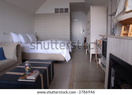 Shipshape bedroom, Waiheke Island, New Zealand