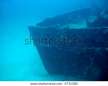 Shipwreck in Barbados