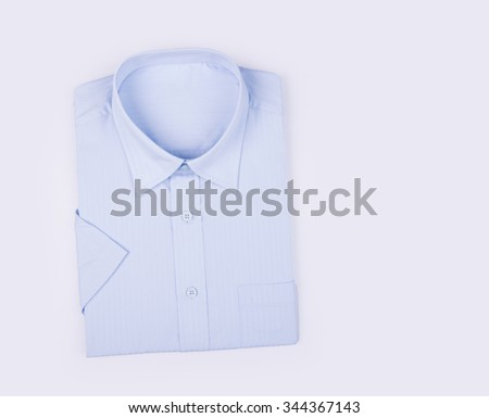 shirt for men's folded on a background
