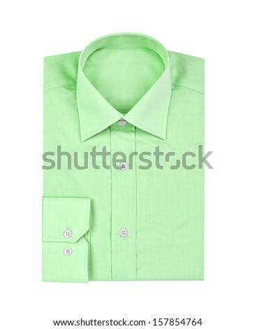 shirt isolated on white background  - stock photo