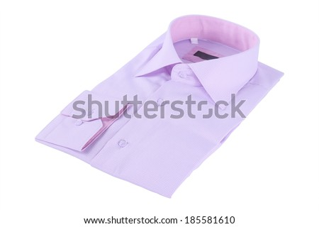 shirt isolated under the white background