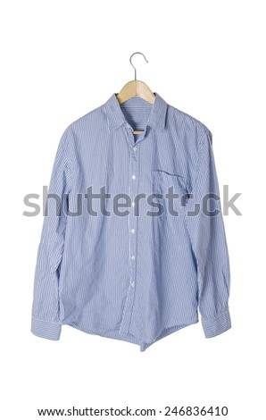 shirt on a hanger - stock photo