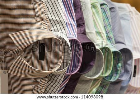 shirt on the hanger - stock photo