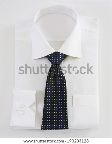 Shirt with Tie - stock photo