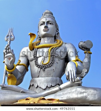 Shiva statue in Murudeswara, India