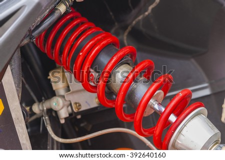 shock absorber car.