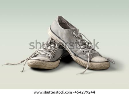 Shoe. - stock photo