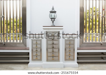 Shoe Cabinet - stock photo