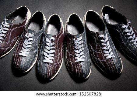 shoes for bowling - stock photo