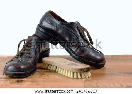 Shoes isolated
