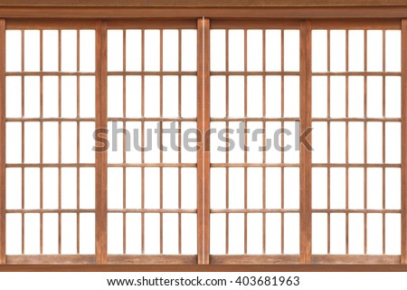 Asian interior stock images royalty free images vectors for Japanese window design