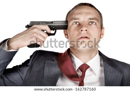 2015 College Football Stock-photo-shoot-in-head-with-gun-162787160