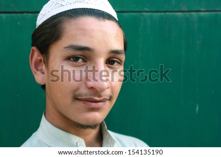 Shoot of young pathan - stock photo