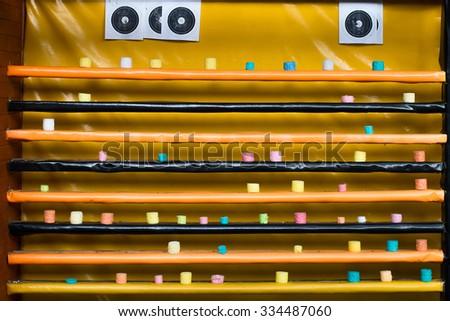 shooting range - stock photo