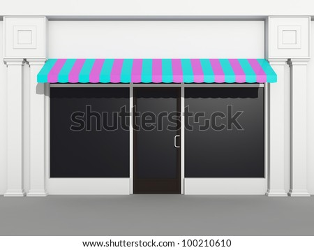 Shopfront - store front - stock photo