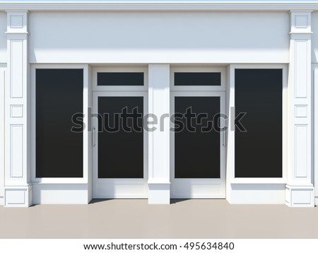 Shopfront Stock Images Royalty Free Images Amp Vectors