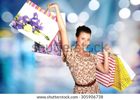 Shopping. - stock photo