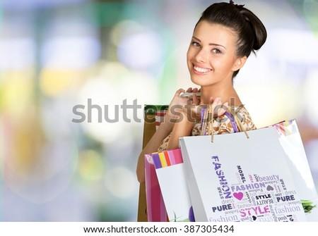 Shopping. - stock photo