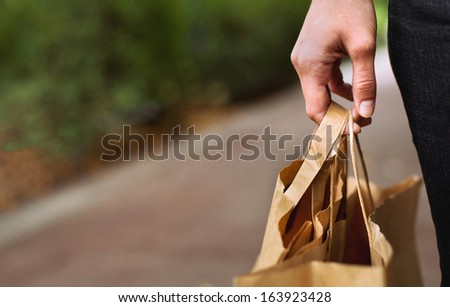 shopping and retail - stock photo